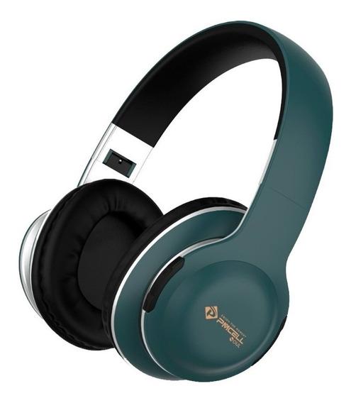 Fone De Ouvido Bluetooth Sem Fio Stereo Blutuf P2 Sd Hp42