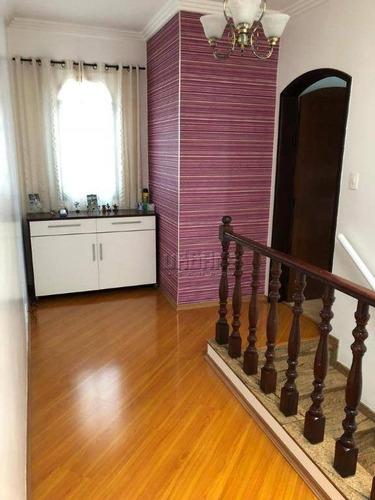 Imagem 1 de 27 de Sobrado Com 3 Dormitórios À Venda, 316 M² Por R$ 970.000,00 - Santa Teresinha - Santo André/sp - So0398