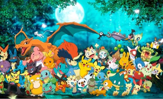 Calcomania Vinil Pokemon Decoracion Niños