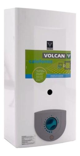 Imagen 1 de 7 de Calefón 14lts Gas Natural Compacto Volcan 315 Krv