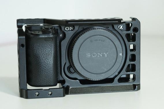 Sony A6000 Com Cage Smallrig Sem Lente