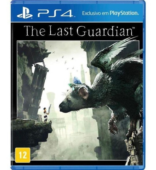 The Last Guardian Ps4 Midia Fisica Novo Lacrado