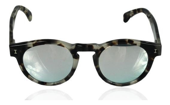 Óculos Illesteva Leonard Onça Espelhado Cinza Illesteva