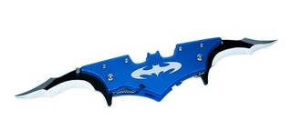 Canivete Do Batman Fox Knives - Semi Automático - Azul