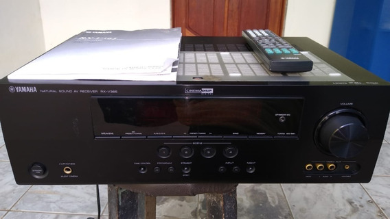 Yamaha Rx-v365 Natural Sound Av Receiver Home 5.1 Semi-novo