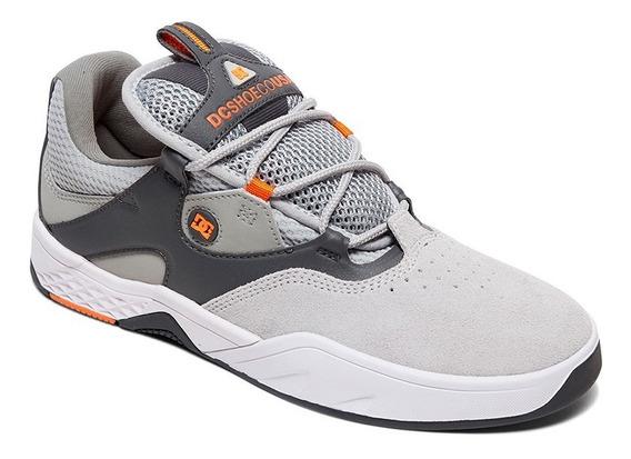 Tênis Dc Shoes Kalis Grey Orange