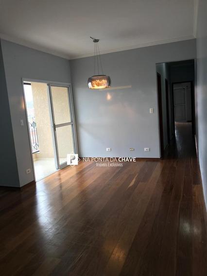 Apartamento Com 2 Dormitórios Para Alugar, 90 M² Por R$ 2.200/mês - Centro - São Bernardo Do Campo/sp - Ap0065