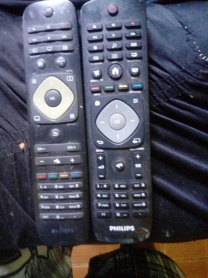 Placas D Tv Philips Com 2 Fone Mais 2 Controle