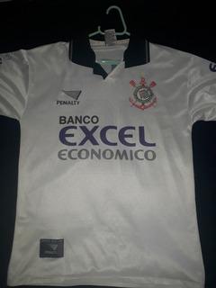 Camisa Do Corinthians 1997 Penalty Nº12 Excel Cheque Oficial