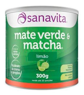 Mate Verde E Matcha - 200 Gramas - Sanavita Limão