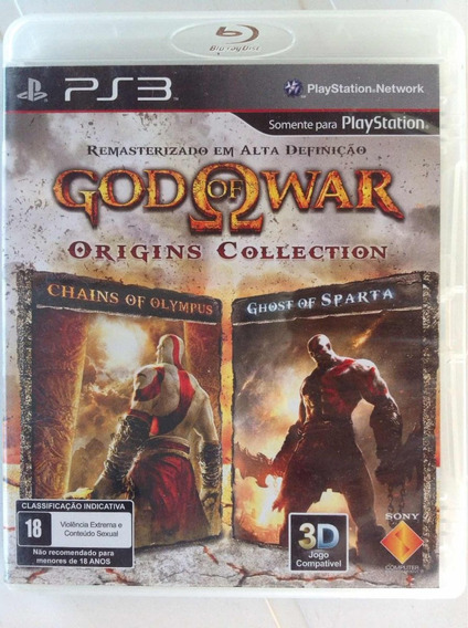 Ps3 Game Godo Of War Origins Collection-compat. 3d
