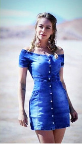 fa7c551e7 Vestido Manchado - Vestidos Casuais Femininas no Mercado Livre Brasil