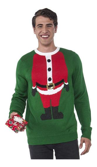 Suéter Feo Navideño Christmas Ugly Sweater Unisex Talla M