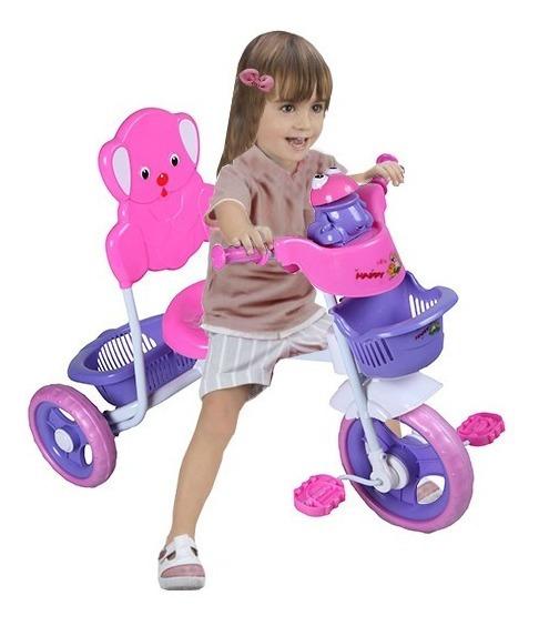 Triciclo Infantil Reforzado - Oso / Ranita