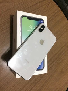 iPhone X 64gb Silver/branco