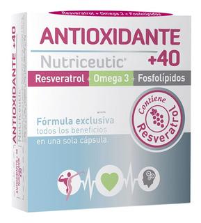 Nutriceutic Antioxidante +40 Rendimiento Fisico 32 Capsulas