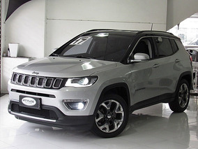 Jeep Compass 2.0 Limited Flex Automatico 2017 Prata Top