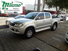 Toyota - Hilux - 2.7 Sr, Prata - 2014 / 2014 - Á/g