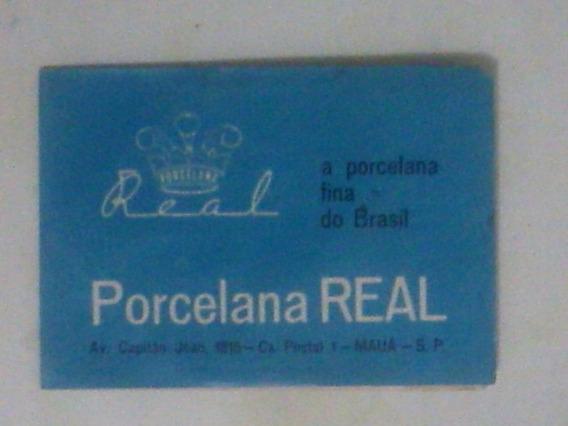 Encarte Promocional -porcelana Real - Mapa De São Paulo
