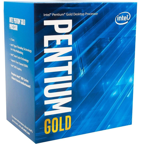 Processador Intel Pentium G5400 Coffee Lake, 8a 3.7ghz, 1151