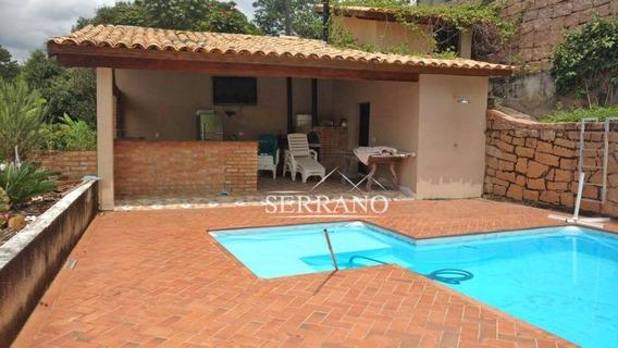 Casa Com 4 Dormitórios À Venda, 400 M² Por R$ 1.100.000,00 - Condomínio Chácaras Do Lago - Vinhedo/sp - Ca0370