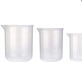 Vaso Presipitado Beaker Plástico 50ml X 2 Un