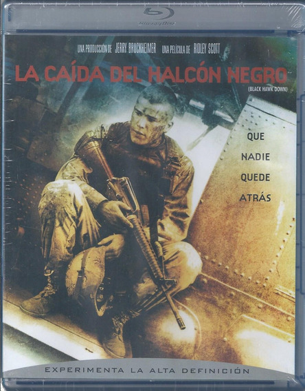 La Caída Del Halcón Negro Black Hawk Down Bluray Nacional