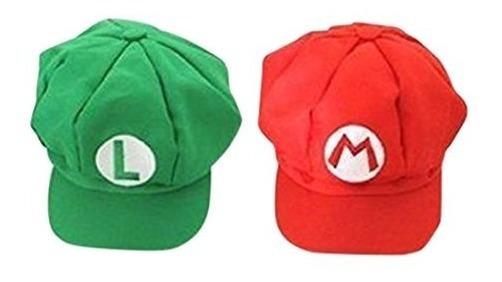 Luckystone Super Role Play Sombrero Bros, Mario Luigi Cap Co