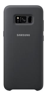 Funda Silicona Cover Samsung S8+ Negro