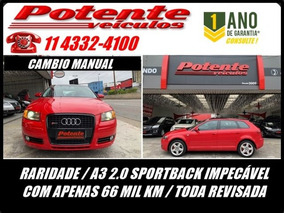 Audi A3 Sportback 2.0 16v Turbo, Fef9944