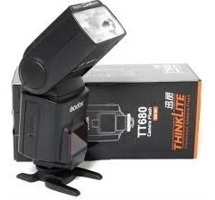 Flash Speedlite Para Canon,godox, Tt 680