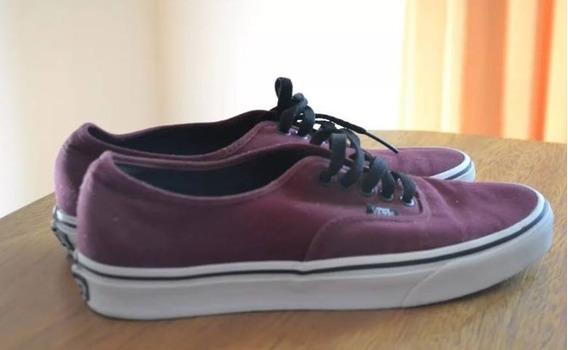 Zapatillas Vans New Era Bordo