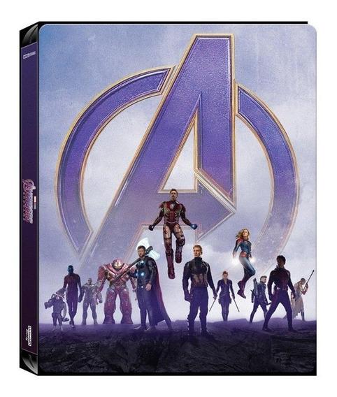 Avengers: Endgame [steelbook] [2019] + Litografia 8.5 De 10