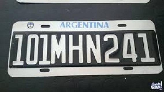 Patentes Para Trailers Y Autos Provisorias Normativa1136/96