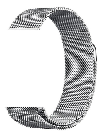 Pulseira Apple Watch Aço Milanese - 42/44mm - Prata
