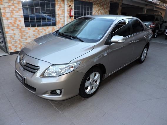 Toyota Corolla Xei 2.0 Flex Automático 2011 Bege