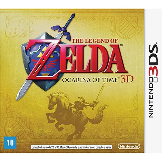 Jogo The Legend Of Zelda: Ocarina Of Time 3d - Semi-novo