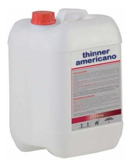 Thinner Americano Precio Por Litro