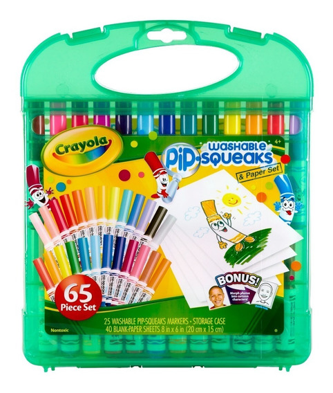Set Crayola 65 Un Marcadores Jumbo