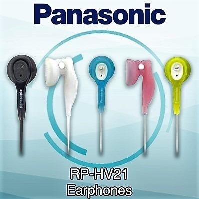 Audífonos Panasonic Rp-hv21 Originales