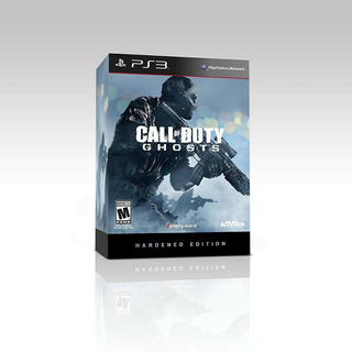 Call Of Duty Ghosts Hardened Edition Ps3 Fisico Nuevo