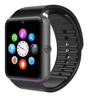 Smartwatch Reloj Inteligente Celular Gt08 Con Camara Android Apple iPhone Deportes Newvision + Cuotas