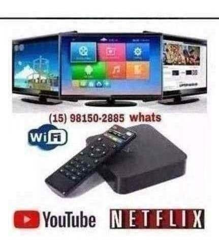 Tv Box Android 8gb Hdram 12gb 61gts Smarttv- 608iptv Hdmi Ut