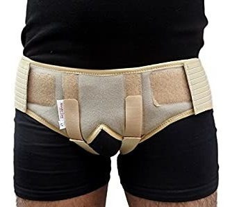 Cinturón Soporte Doble Hernia Inguinal L