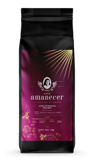 Café Amanecer 100% Puro Gourmet De Altura 1kg Molido