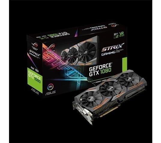 Placa De Video Asus Geforce Gtx 1080 8gb Ddr5x 256 Bits - S