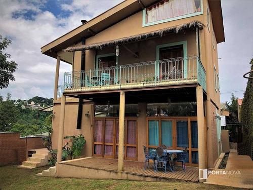 Casa Com 5 Dormitórios À Venda, 415 M² Por R$ 1.490.000,00 - Jardim Do Golf I - Jandira/sp - Ca0292