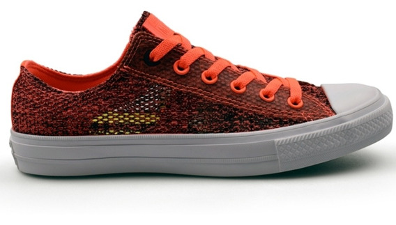 Zapatillas Converse Chuck Taylor All Star Ii Ox Hyper Orange