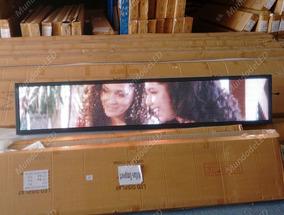 Painel De Led 2m X 40cm P5 Full Color Suporta Vídeos Rgb