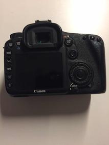 Câmera Canon 7d + 2 Baterias E Carregador E Cartão 64gb